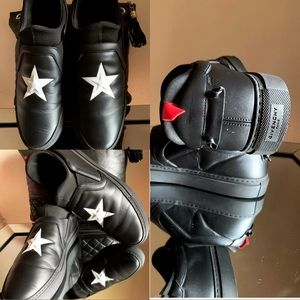 🔥🔥🔥💯Authentic Givenchy black star slip on.🔥🔥